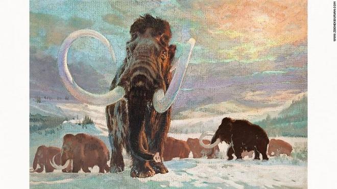 Những bức tranh màu siêu thực về quái vật thời tiền sử - Ảnh 5.