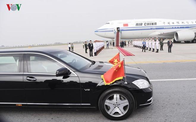 Ảnh: Chủ tịch Trung Quốc rời Hà Nội, kết thúc chuyến thăm Việt Nam - Ảnh 5.