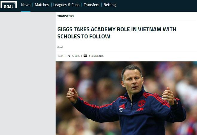 Báo Anh đồng loạt đưa tin Giggs sang Việt Nam làm Giám đốc bóng đá - Ảnh 5.