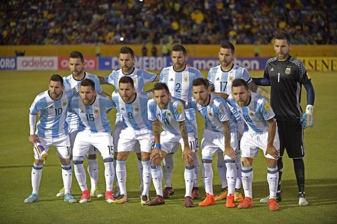 Biếm họa Messi cõng cả tuyển Argentina trên lưng - Ảnh 5.