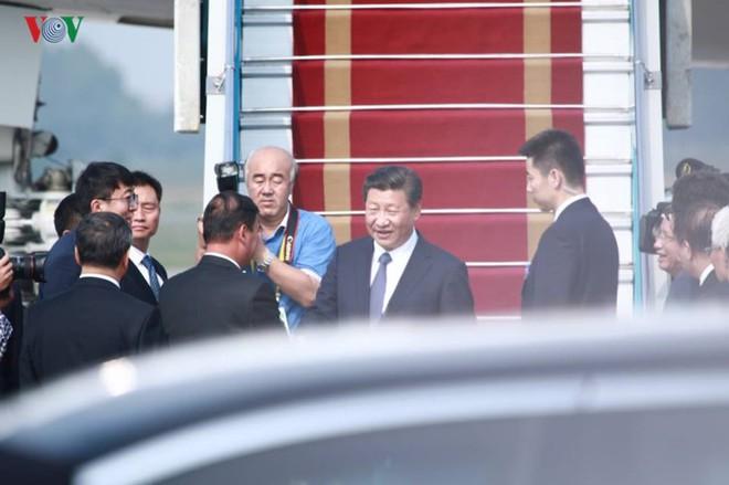 Ảnh: Chủ tịch Trung Quốc rời Hà Nội, kết thúc chuyến thăm Việt Nam - Ảnh 6.