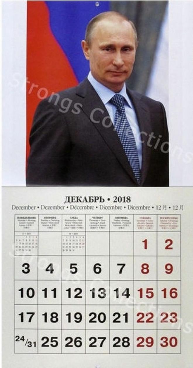 Công ty Nga tung bộ lịch ông Putin siêu ... ngầu - Ảnh 5.