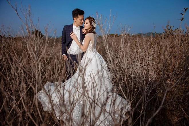 'Hot girl dân tộc' hạnh phúc bên chồng trong bộ ảnh cưới - ảnh 7