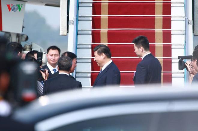 Ảnh: Chủ tịch Trung Quốc rời Hà Nội, kết thúc chuyến thăm Việt Nam - Ảnh 7.