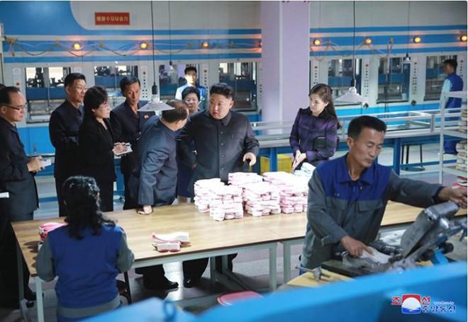 Ảnh độc: Ông Kim Jong-un tươi cười lái ngựa thép - ảnh 7