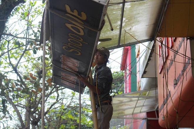 Nhà mặt phố ở Hà Tĩnh ủng hộ dọn dẹp vỉa hè - Ảnh 8.