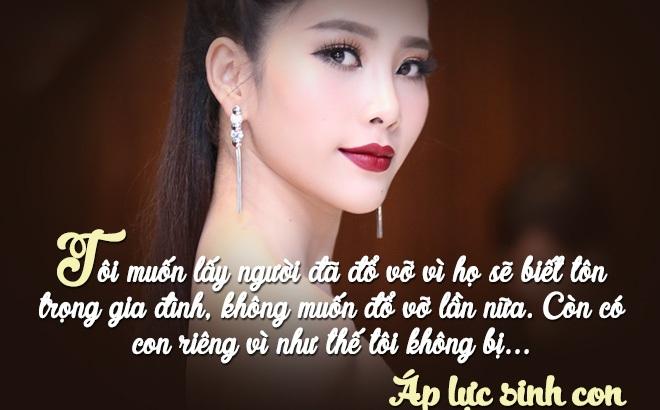 3 mỹ nhân Việt phát ngôn sẵn sàng yêu đàn ông lớn tuổi, từng có vợ, có con riêng