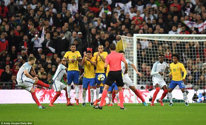 Neymar bất lực, Brazil hòa không bàn thắng với Anh trên sân Wembley - Ảnh 10.