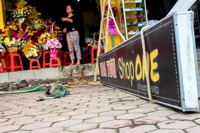 Nhà mặt phố ở Hà Tĩnh ủng hộ dọn dẹp vỉa hè - Ảnh 9.