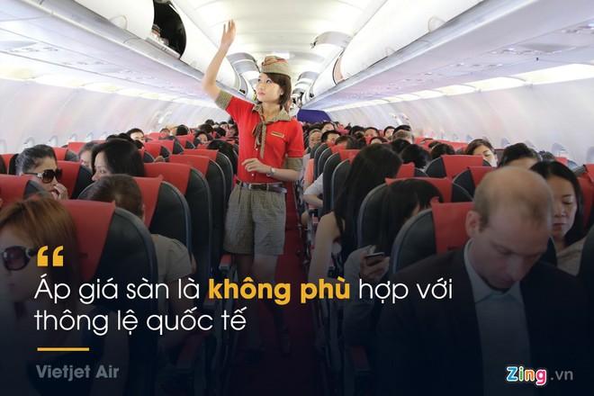 Những phát ngôn đáng chú ý xung quanh đề xuất áp sàn giá vé máy bay - Ảnh 9.