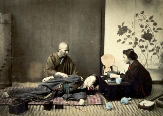 Cuộc sống Nhật Bản xưa qua những bức ảnh màu - Ảnh 9.