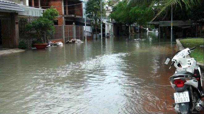 Nước nhấn chìm cả trăm xe máy, ô tô trong chung cư - Ảnh 9.