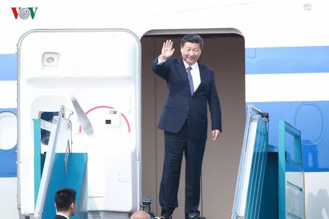Ảnh: Chủ tịch Trung Quốc rời Hà Nội, kết thúc chuyến thăm Việt Nam - Ảnh 9.