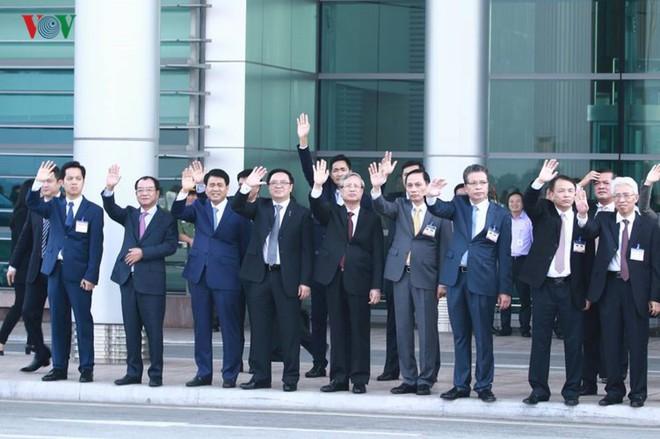Ảnh: Chủ tịch Trung Quốc rời Hà Nội, kết thúc chuyến thăm Việt Nam - Ảnh 10.