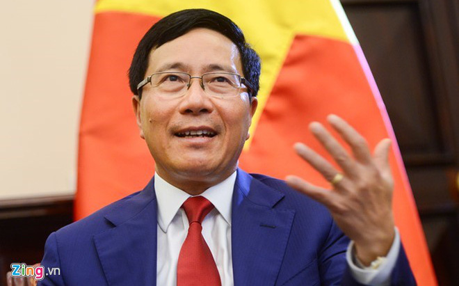 Phó TT Phạm Bình Minh phát biểu tại hội nghị thượng đỉnh G20