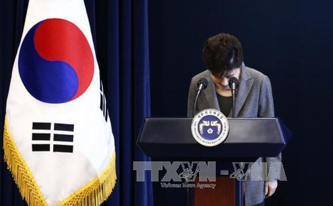 Cựu Tổng thống Park Geun-hye đối mặt khả năng bị điều tra