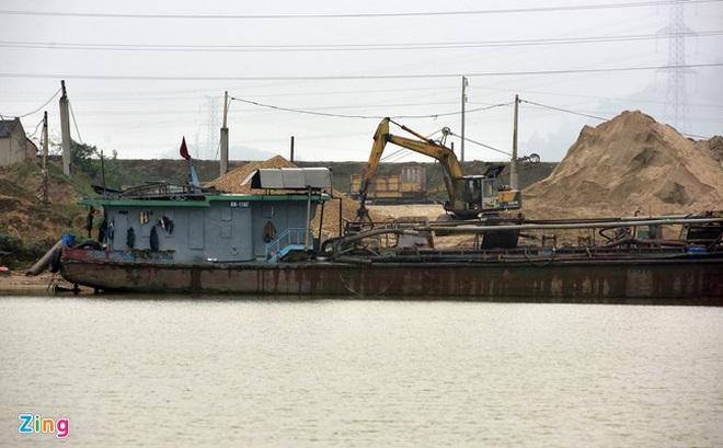 Vụ khai thác cát ở Bắc Ninh: Đình chỉ công tác 3 thanh tra