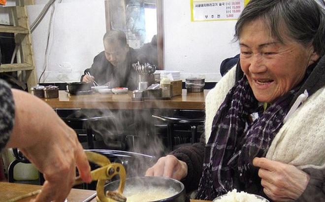 Người già nghèo chật vật mưu sinh ở Hàn Quốc