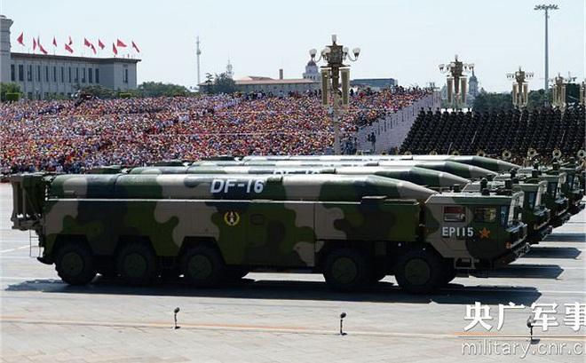 Triển khai tên lửa đạn đạo DF-16, Trung Quốc chuẩn bị tấn công Đài Loan?