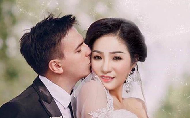 Danh hài Thúy Nga bất ngờ công khai ảnh cưới lần 2