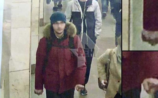 Đã có hình ảnh kẻ khủng bố ở ga tàu điện ngầm St. Petersburg