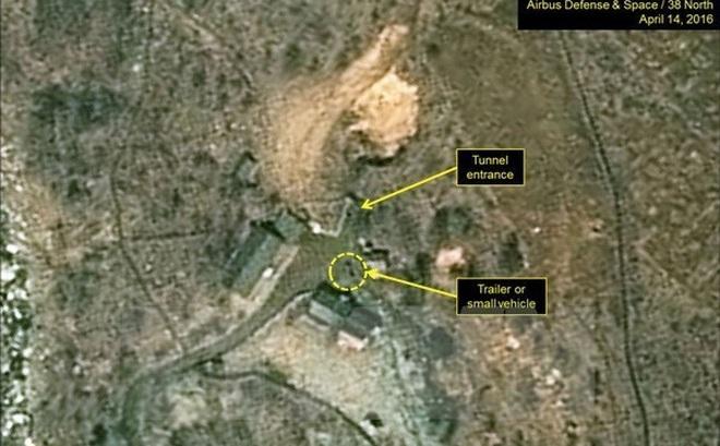 Động thái đằng sau ảnh Triều Tiên chơi bóng chuyền ở bãi thử hạt nhân