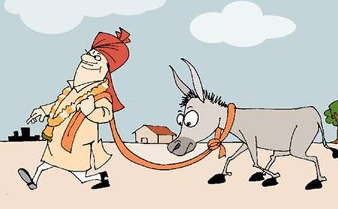 Kết quả hình ảnh cho câu chuyện bò và lừa