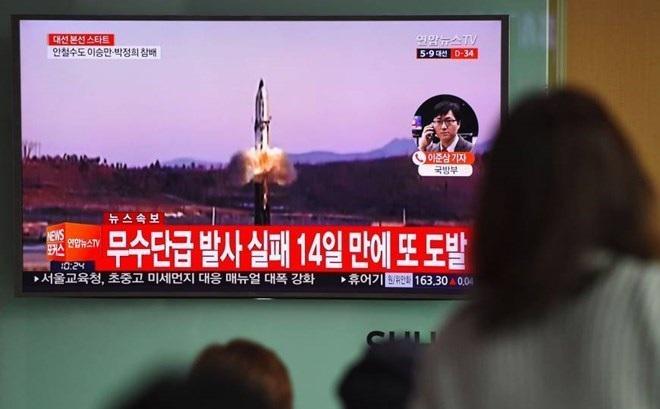 """Mỹ: Vụ phóng tên lửa xuất phát từ""""sự hoang tưởng"""" của Kim Jong-un"""