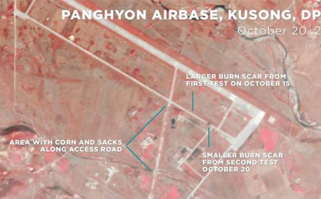 """Ảnh vệ tinh """"tố"""" tên lửa Triều Tiên rất uy lực"""