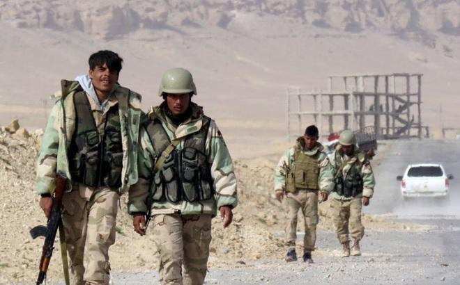 Nga dội hỏa lực yểm trợ, quân đội Syria đánh bật IS chiếm mỏ khí đốt ở Homs