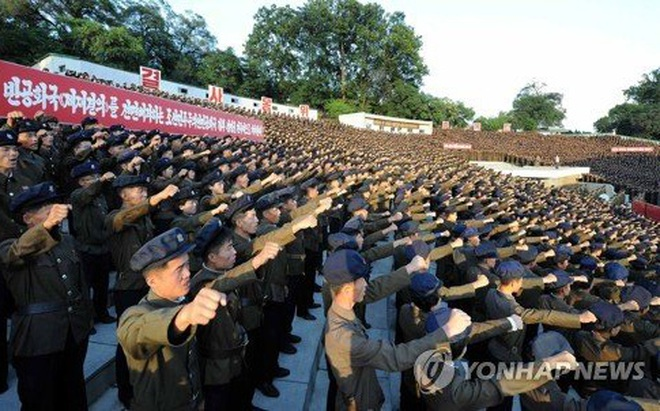 Hơn 3 triệu người Triều Tiên tự nguyện xin nhập ngũ
