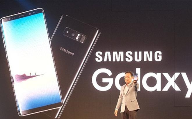 Samsung tung Galaxy Note 8 tại Việt Nam, giá từ 22,5 triệu đồng