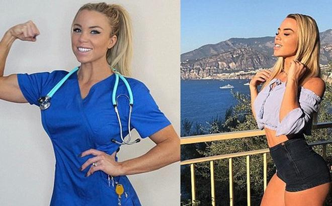 """Vẻ đẹp ngất ngây của nữ y tá """"nóng bỏng nhất thế giới"""": 31 tuổi mà trẻ trung không kém các cô gái 20"""