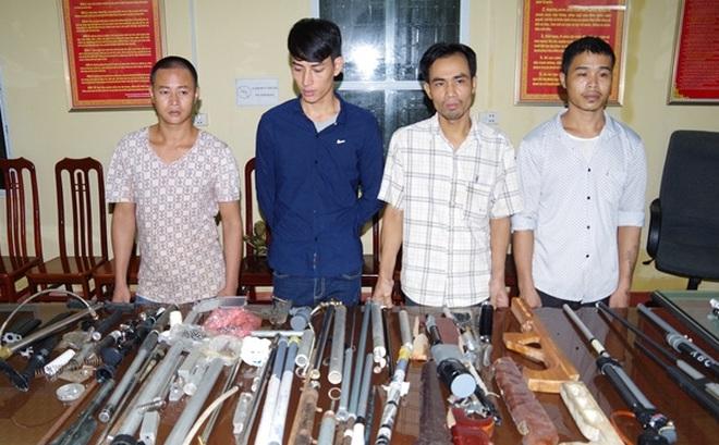 Hà Nam: Tóm gọn ổ nhóm mua linh kiện về chế tạo súng