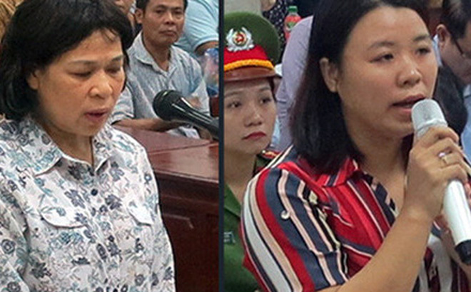 """Những nữ """"trợ thủ"""" hầu tòa cùng Châu Thị Thu Nga"""