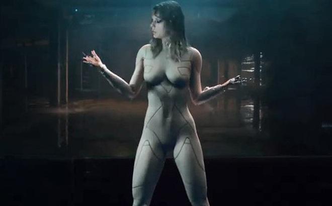 HOT: Taylor Swift khoe body sexy khó cưỡng với tạo hình người máy trong teaser MV mới