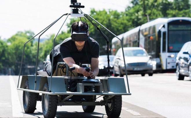 Dự án kỳ lạ này cho con người nhìn bằng đôi mắt của xe tự lái