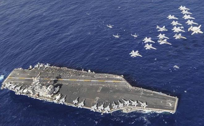 """3 cụm tàu sân bay """"tạo thế"""" cho Tổng thống Mỹ thăm châu Á"""