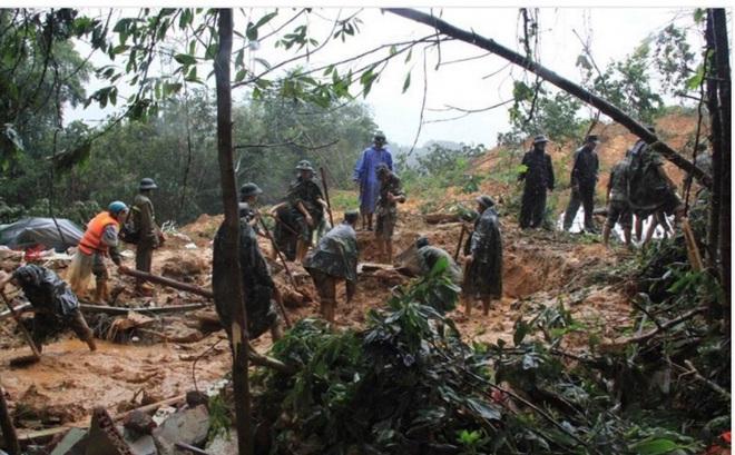 Lở núi vùi 9 người ở Quảng Nam: Tìm thấy nạn nhân cuối cùng
