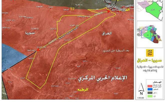 Quân đội Syria-Iraq quét sạch IS, giành quyền kiểm soát vùng biên giới hai nước