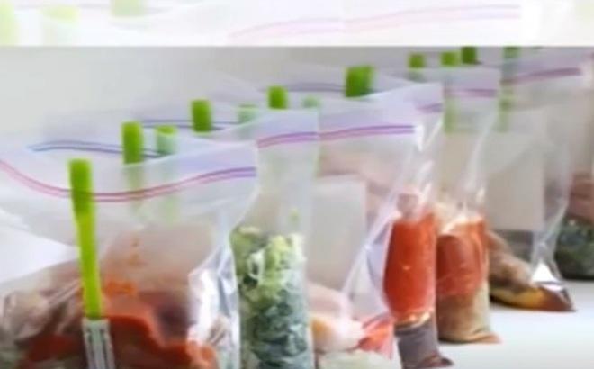 Nguy cơ nhiễm độc khi dùng túi nilon bọc thực phẩm trong tủ lạnh