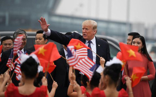 Forbes: Việt Nam là nước thành công nhất khi đón Tổng thống Donald Trump