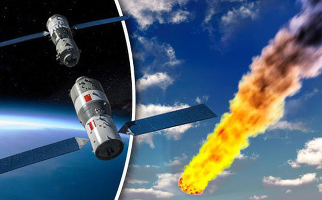 Trạm vũ trụ Trung Quốc đang rơi vô định xuống Trái đất
