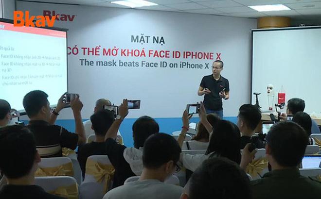 BKAV vừa chứng minh Apple sai lần nữa bằng cách dùng mặt nạ qua mặt Face ID ở thiết lập bảo mật nhất