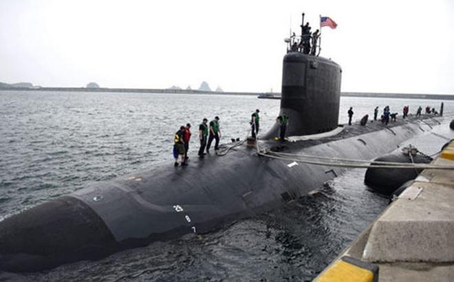 Tàu ngầm hạt nhân Mỹ tiếp cận bán đảo Triều Tiên