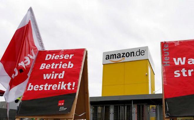 Hơn 500 công nhân Amazon đình công để được nhận thêm lương vào ngày Black Friday