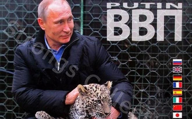 """Công ty Nga tung bộ lịch ông Putin siêu ... """"ngầu"""""""