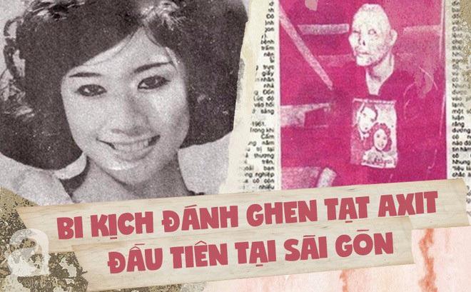 """Vũ nữ Cẩm Nhung: Bi kịch """"bông hồng"""" đất Bắc bị đánh ghen tạt axit đến biến dạng gây rúng động Sài Gòn một thời"""