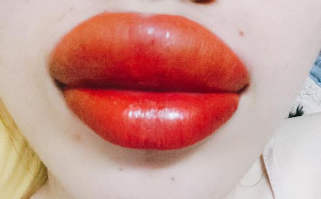 Kết quả hình ảnh cho xăm môi