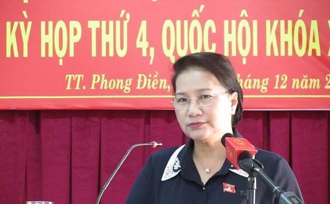 Chủ tịch Quốc hội Nguyễn Thị Kim Ngân nói về BOT